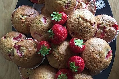 Erdbeer - Muffins 10