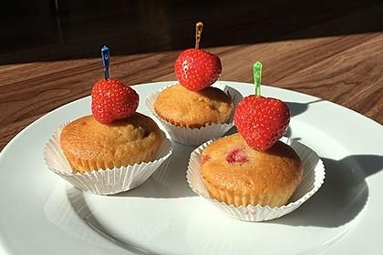 Erdbeer - Muffins 12
