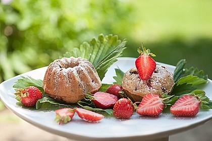 Erdbeer - Muffins 2