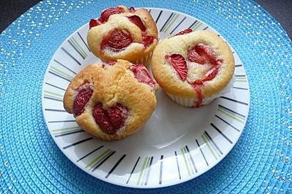 Erdbeer - Muffins 8