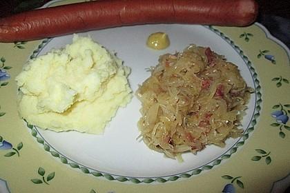 Sauerkraut mit Speck 6