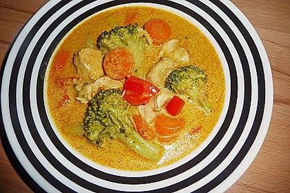 Thailändische Kokossuppe 3