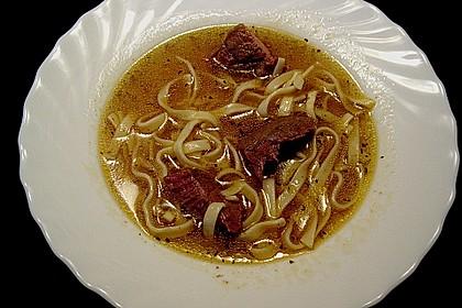 Klare Fleischsuppe, Rindssuppe 2