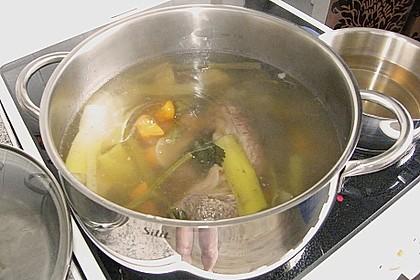 Klare Fleischsuppe, Rindssuppe 3