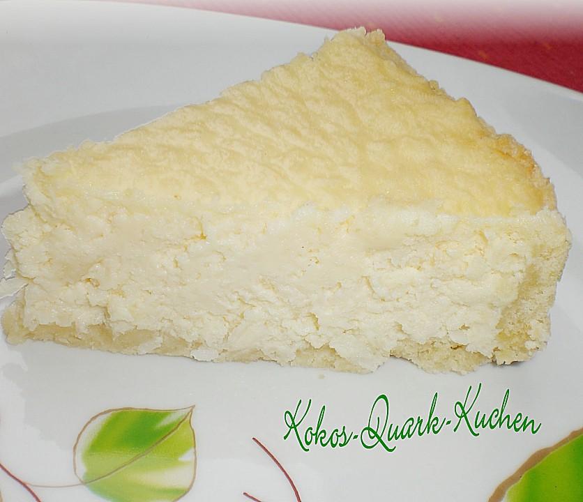 Kokos Quark Kuchen Von Tina0608 Chefkoch De