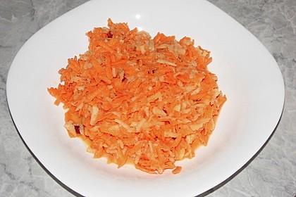 Apfel - Möhren Salat 4