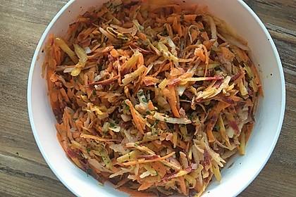 Apfel - Möhren Salat 1