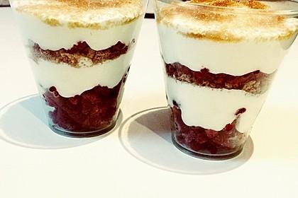 Himbeer - Joghurt - Mascarpone - Dessert 17