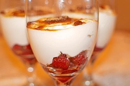 Himbeer - Joghurt - Mascarpone - Dessert 2