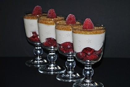 Himbeer - Joghurt - Mascarpone - Dessert