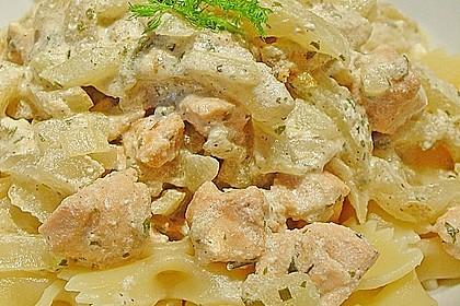 Fenchel - Lachs - Spaghettini 1