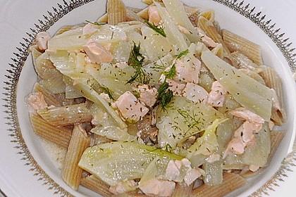 Fenchel - Lachs - Spaghettini 2