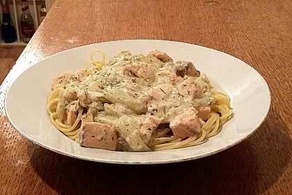 Fenchel - Lachs - Spaghettini 3
