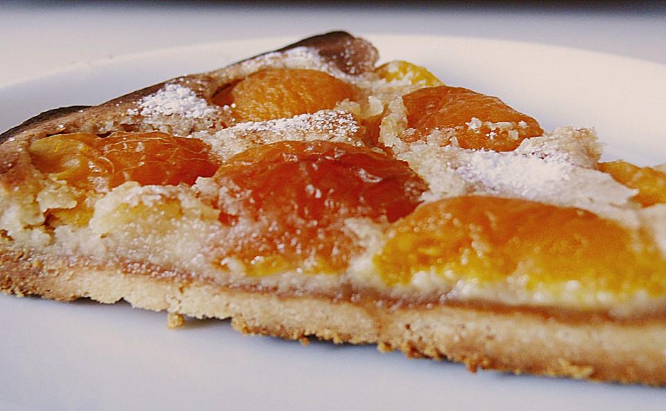 Aprikosen Marzipan Kuchen