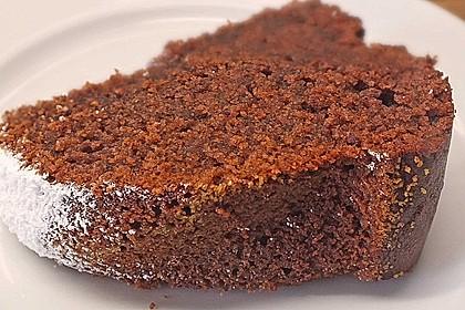 Schokolade - Becherkuchen