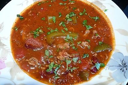 Scharfe Mexikosuppe