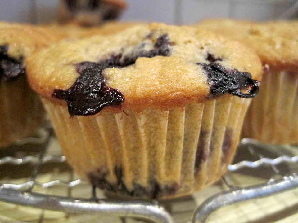 Buttermilch Blaubeer Muffins Von Luckys Home Chefkoch De