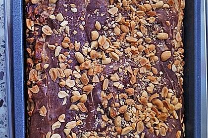 Creamy Peanut Brownies (Bild)