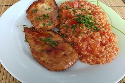 Hähnchensteaks auf Tomatenreis 8