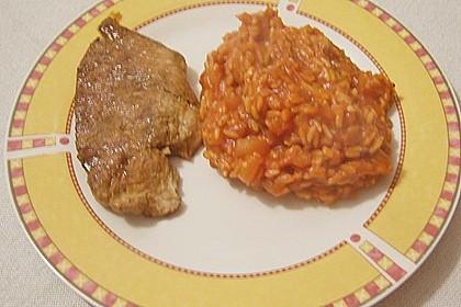 Hähnchensteaks auf Tomatenreis 33