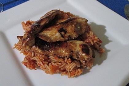 Hähnchensteaks auf Tomatenreis 31