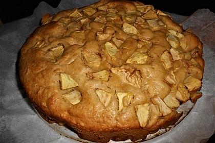 Apfel - Erdnussbutter Muffins 5