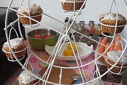 Apfel - Erdnussbutter Muffins 6