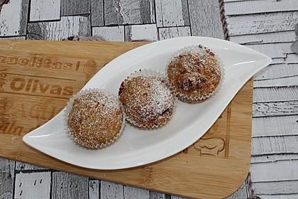 Apfel - Erdnussbutter Muffins 1