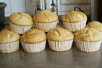 Apfel - Erdnussbutter Muffins 15