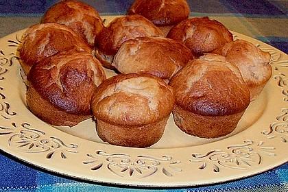 Apfel - Erdnussbutter Muffins 8