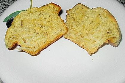 Apfel - Erdnussbutter Muffins 11