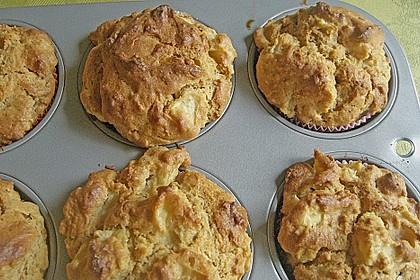 Apfel - Erdnussbutter Muffins 13