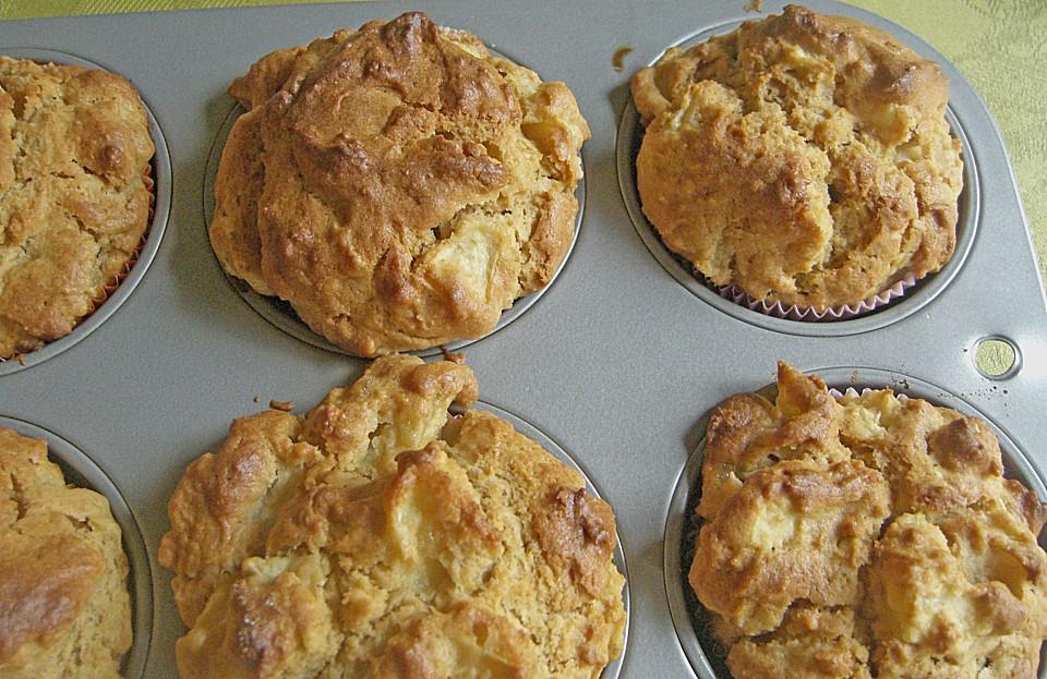 Apfel Erdnussbutter Muffins Von Seelenschein Chefkoch De