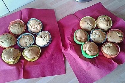 Apfel - Erdnussbutter Muffins 10