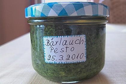 Bärlauch - Pesto 10