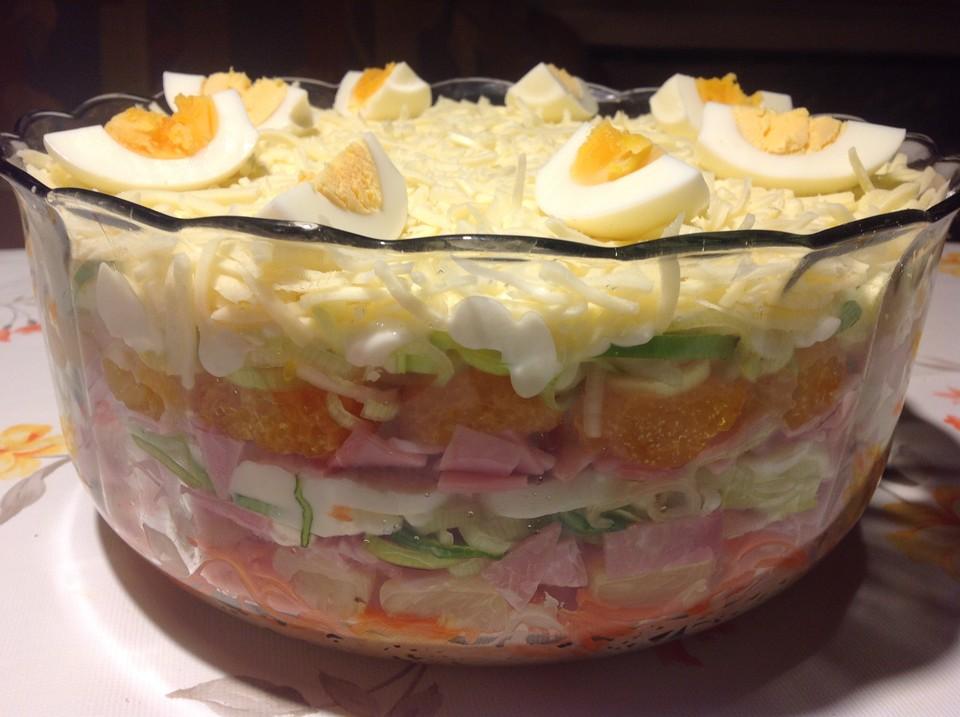 Rezepte der beste schichtsalat