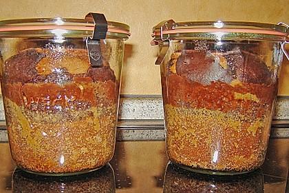 Marmorkuchen im Glas 14