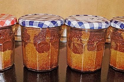 Marmorkuchen im Glas 18