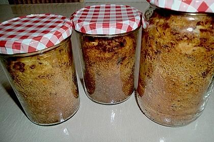 Marmorkuchen im Glas 50