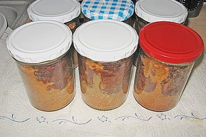 Marmorkuchen im Glas 41