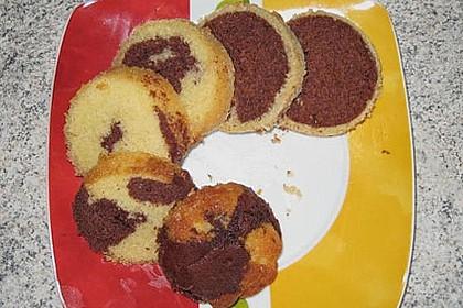 Marmorkuchen im Glas 39