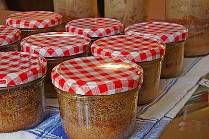 Marmorkuchen im Glas 4