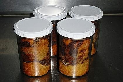 Marmorkuchen im Glas 27