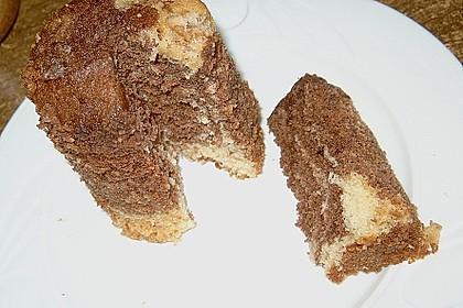 Marmorkuchen im Glas 36