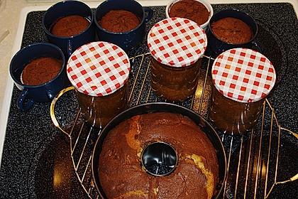 Marmorkuchen im Glas 16