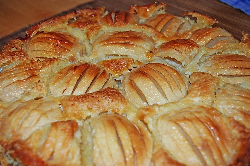 Apfel Pudding Kuchen Von Irina411 Chefkoch De