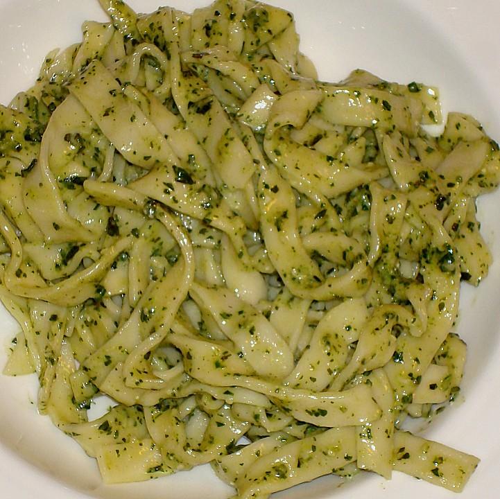 Nudeln Mit Pesto Von Xapor Chefkoch