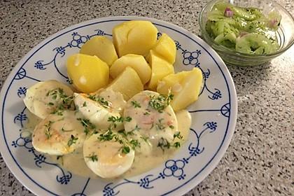 Senf - Eier mit Reis 1