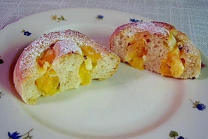 Erdbeer-Vanille Schnecken 12