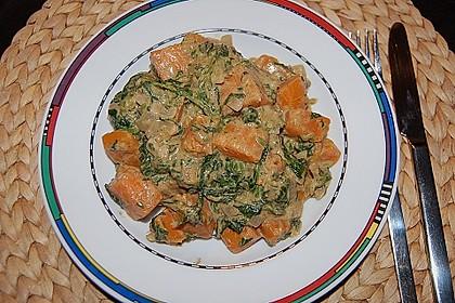 Süßkartoffel - Curry 7